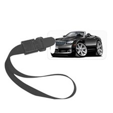 Crossfire Black Convertible Luggage Tag