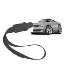 Crossfire Silver Convertible Luggage Tag