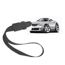 Crossfire White Convertible Luggage Tag