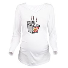 Bun in oven Long Sleeve Maternity T-Shirt