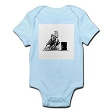 Barrel Racing Infant Bodysuit