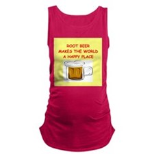 ROOT BEER Maternity Tank Top