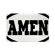 Amen Rectangle Magnet
