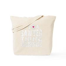 Sawyer Thing bk Tote Bag