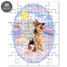 OvOrn-Clouds-German Shepherd 1 Puzzle