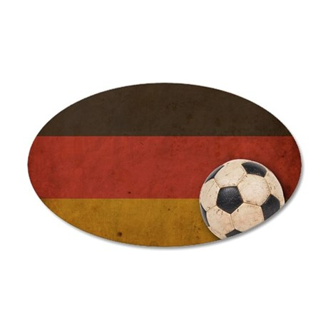 VintageGermany7 35x21 Oval Wall Decal