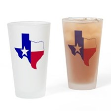 Texas map 3 Drinking Glass