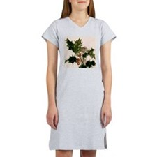holly berries Women's Nightshirt