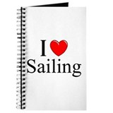 """I Love (Heart) Sailing"" Journal"