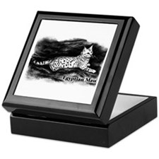Egyptian Mau Keepsake Box
