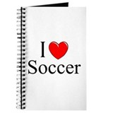 """I Love (Heart) Soccer"" Journal"