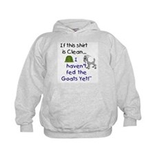 GOATS-If this Shirt is Clean Hoodie