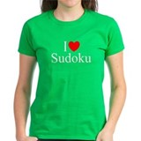 &quot;I Love (Heart) Sudoku&quot; Tee