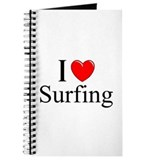 """I Love (Heart) Surfing"" Journal"