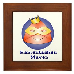 Hamentashen Maven Framed Tile