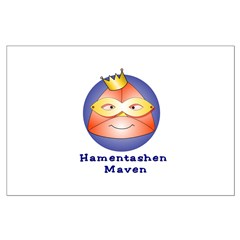 Hamentashen Maven Large Poster