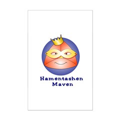 Hamentashen Maven Mini Poster Print
