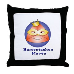 Hamentashen Maven Throw Pillow