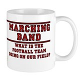 Football Team on Our Field Small Mug