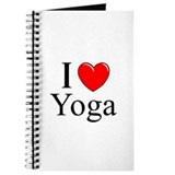 """I Love (Heart) Yoga"" Journal"