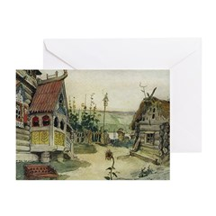 Russian Village Greeting Cards (Pk of 10)