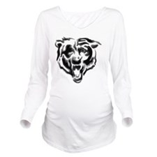 bears-head-image Long Sleeve Maternity T-Shirt