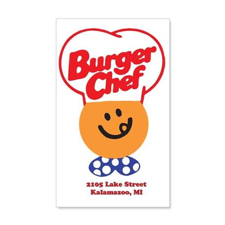 Burger Chef Kalamazoo Lite 35x21 Wall Decal