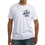Masonic Quadrivium 7 point star Fitted T-Shirt