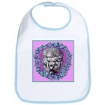 Gray Poodle Bib
