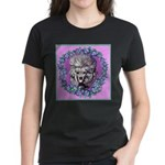 Gray Poodle Women's Dark T-Shirt