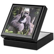 Gorilla Graduation Keepsake Box