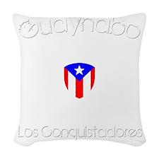 Guaynabo B Woven Throw Pillow