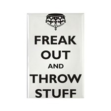freak-out Rectangle Magnet
