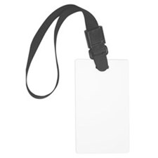 freak-out-2 Large Luggage Tag