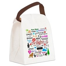 Twilight Mem S1 Canvas Lunch Bag