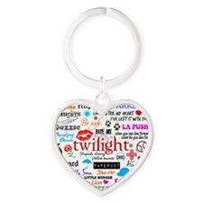 Twilight Mem S1 Heart Keychain