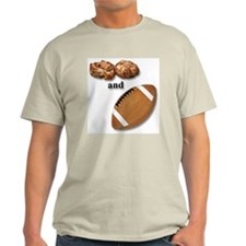 Crabcakes and Football Ash Grey T-Shirt