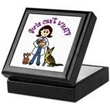 Light Veterinarian Keepsake Box