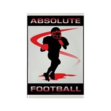 Football 9 Rectangle Magnet