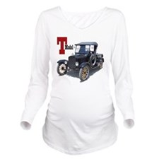 T-truck-10 Long Sleeve Maternity T-Shirt