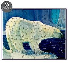 Bear 4 New Heather Blue (4) Puzzle
