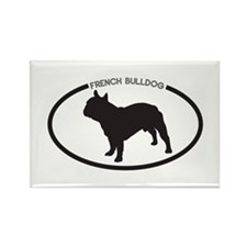 French-Bulldog Rectangle Magnet