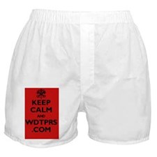 keep_calm_wdtprs_06_black_red_and_PNG Boxer Shorts