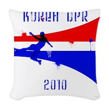 Korea DPR copy Woven Throw Pillow