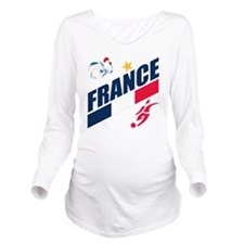 france a Long Sleeve Maternity T-Shirt