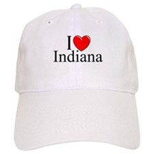 """I Love Indiana"" Baseball Cap"