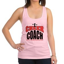 CHEER-COACH Racerback Tank Top