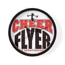 CHEER-FLYER Wall Clock