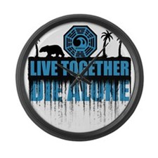 live-together-polar Large Wall Clock