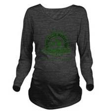 GATOR WRESTLING CHAM Long Sleeve Maternity T-Shirt